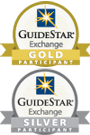GuideStar Exchange Gold and Silver logos